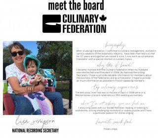 Meet the Board - National Recording Secretary